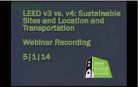LEED v4 Sustainable Sites - Location and Transportation